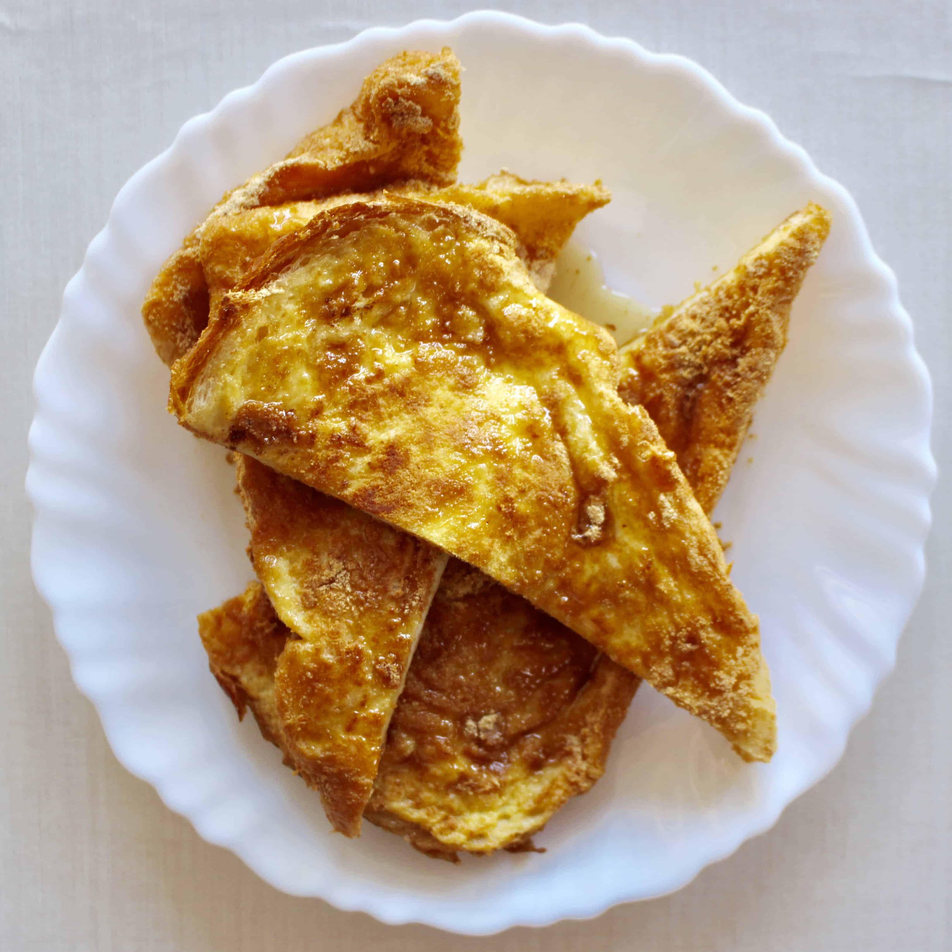 Kinako French Toast (Vegan + GF)