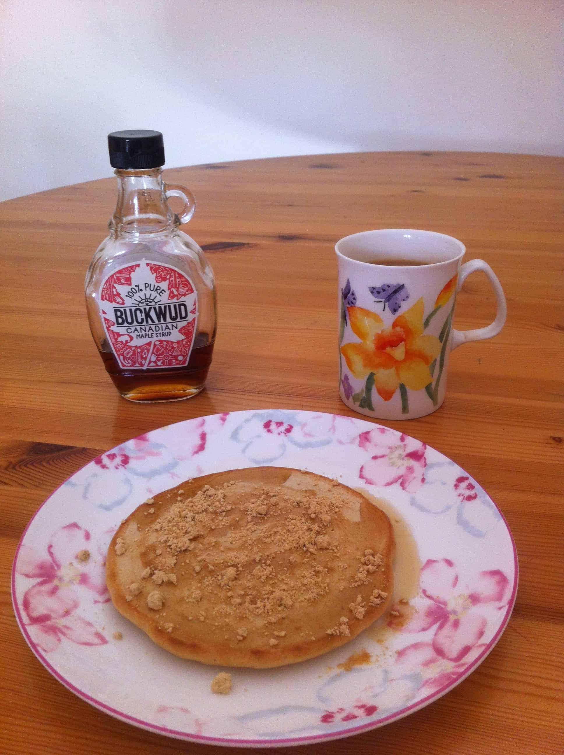 Kinako Pancakes (Dairy-Free)