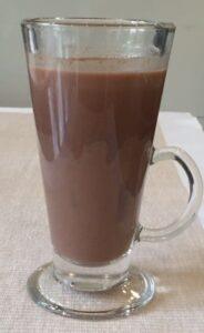 Vegan Spiced Hot Chocolate
