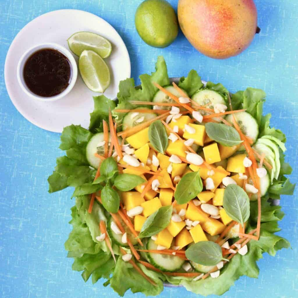 Vegan Thai Mango Salad (GF)