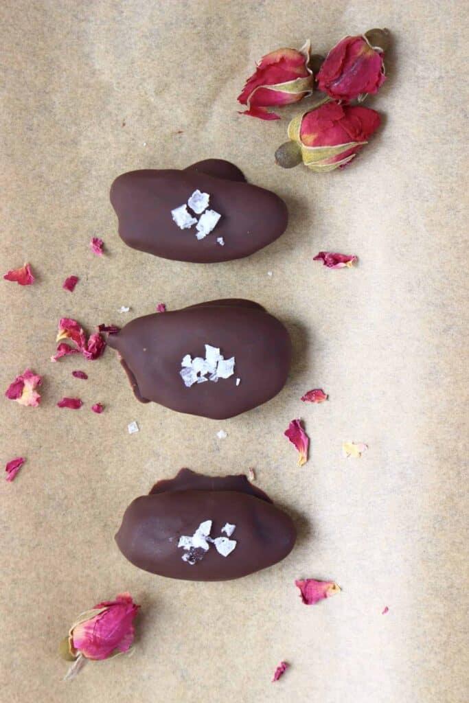 Vegan Chocolate Date Caramels (GF)
