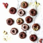 Vegan Chocolate Baked Donuts (GF)