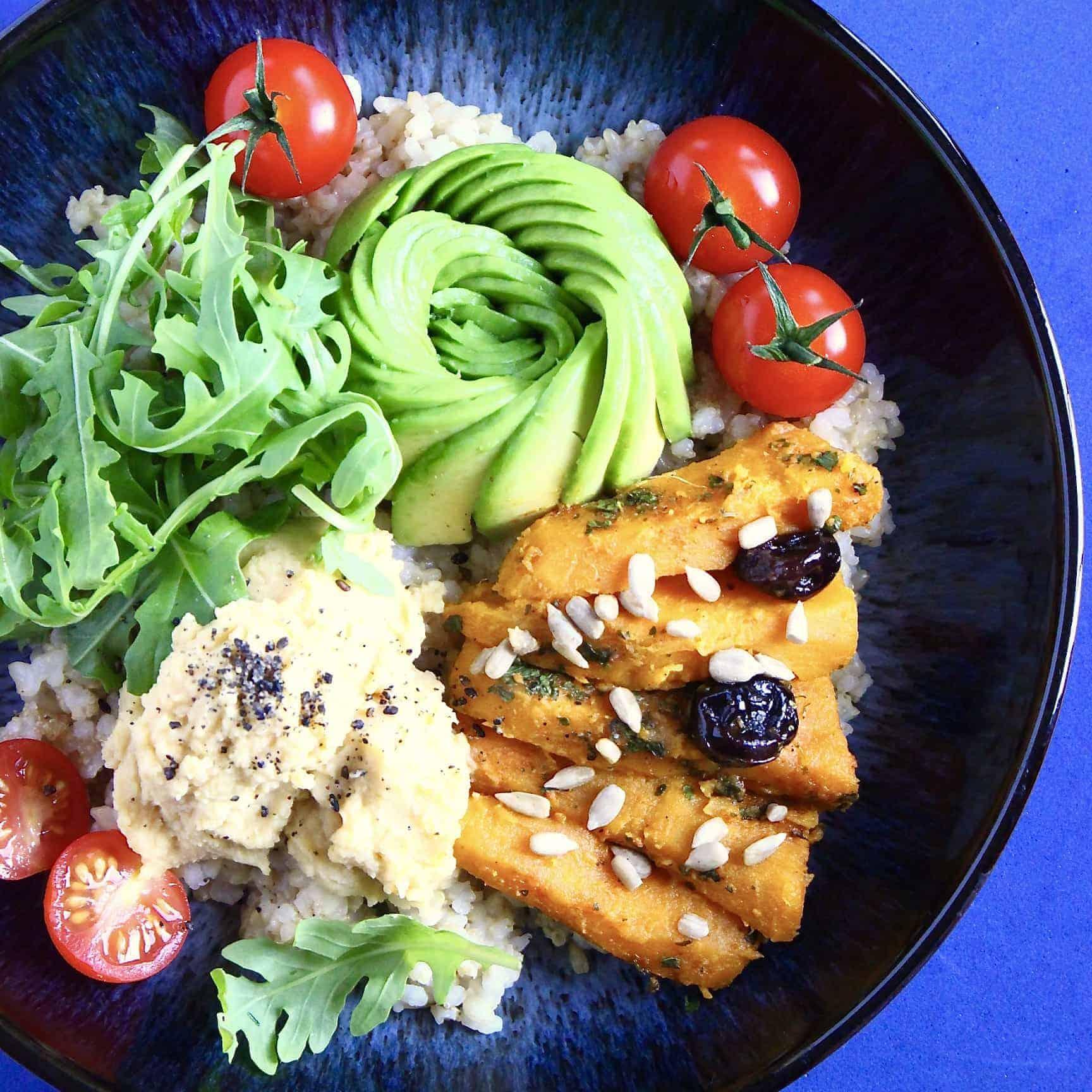 Vegan Sweet Potato Buddha Bowl (GF)