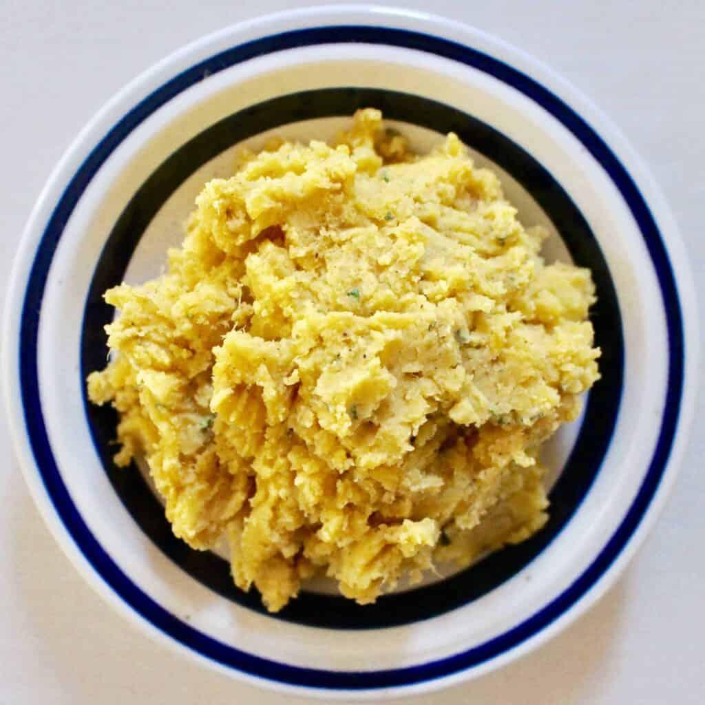 Sweet Potato Hummus Without A Blender (Vegan + GF)