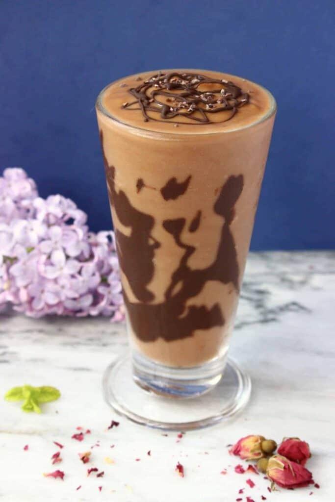 Vegan Chocolate Sweet Potato Milkshake