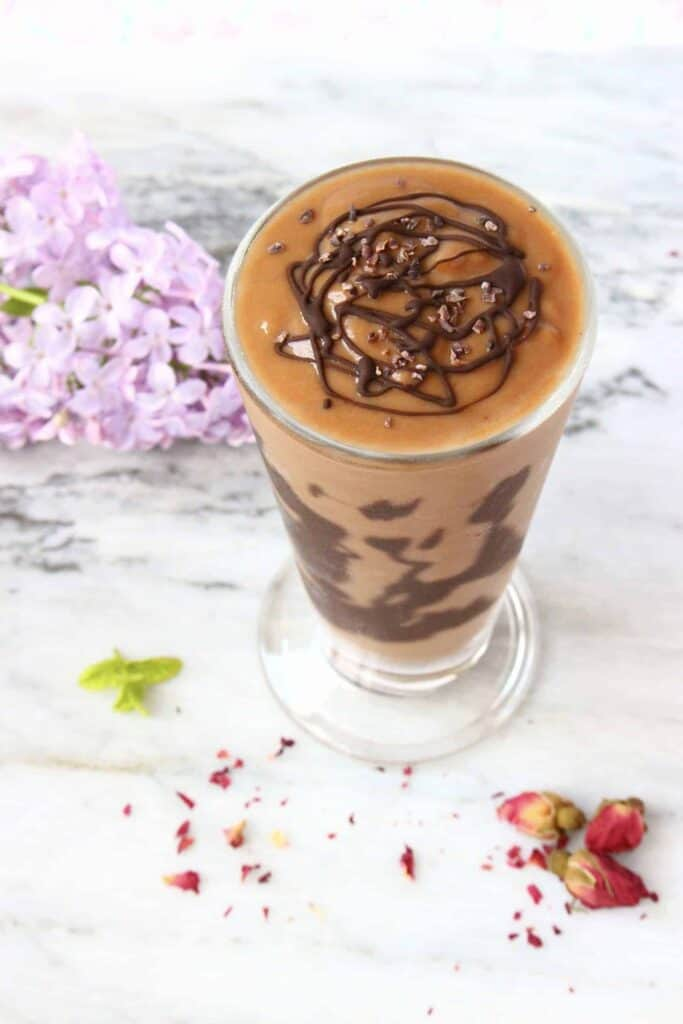 Vegan Chocolate Sweet Potato Milkshake