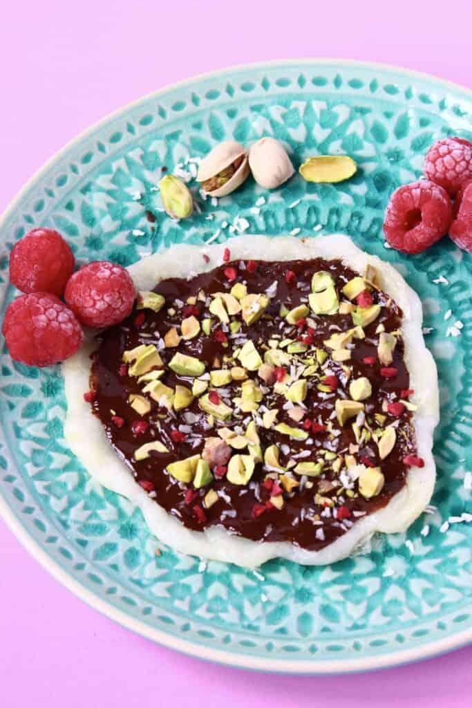 Mochi Dessert Pizza (Vegan + GF)