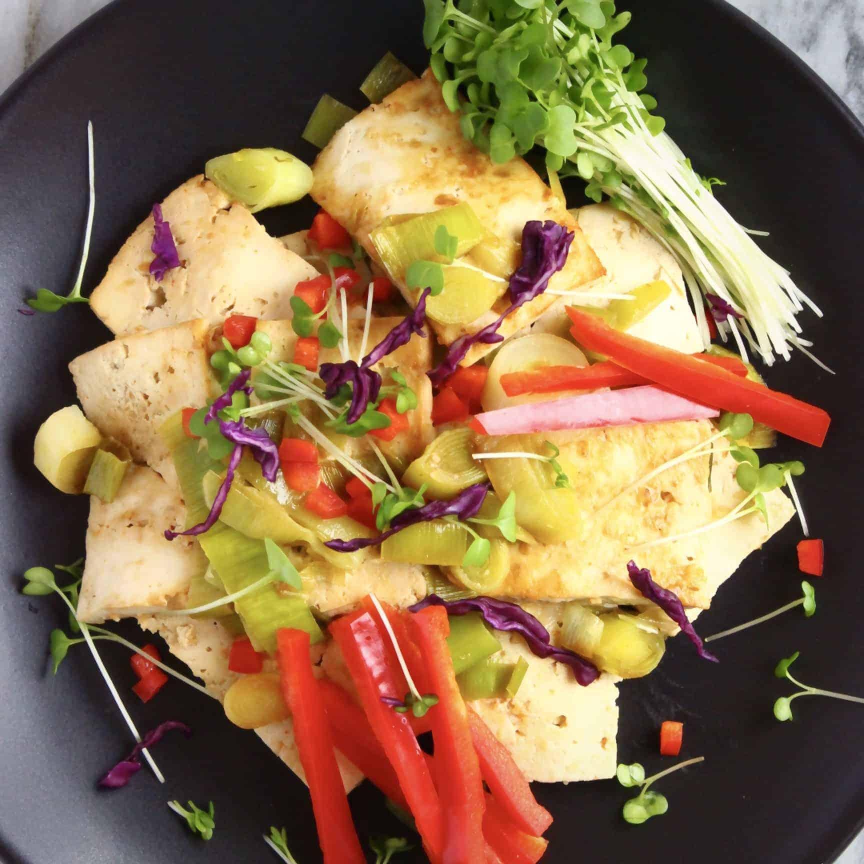 Twice-Cooked Tofu (Vegan + GF)