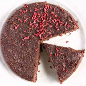 Gluten-Free Vegan Chocolate Torte