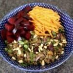 Spiced Puy Lentil Salad [VEGAN/GLUTEN-FREE]