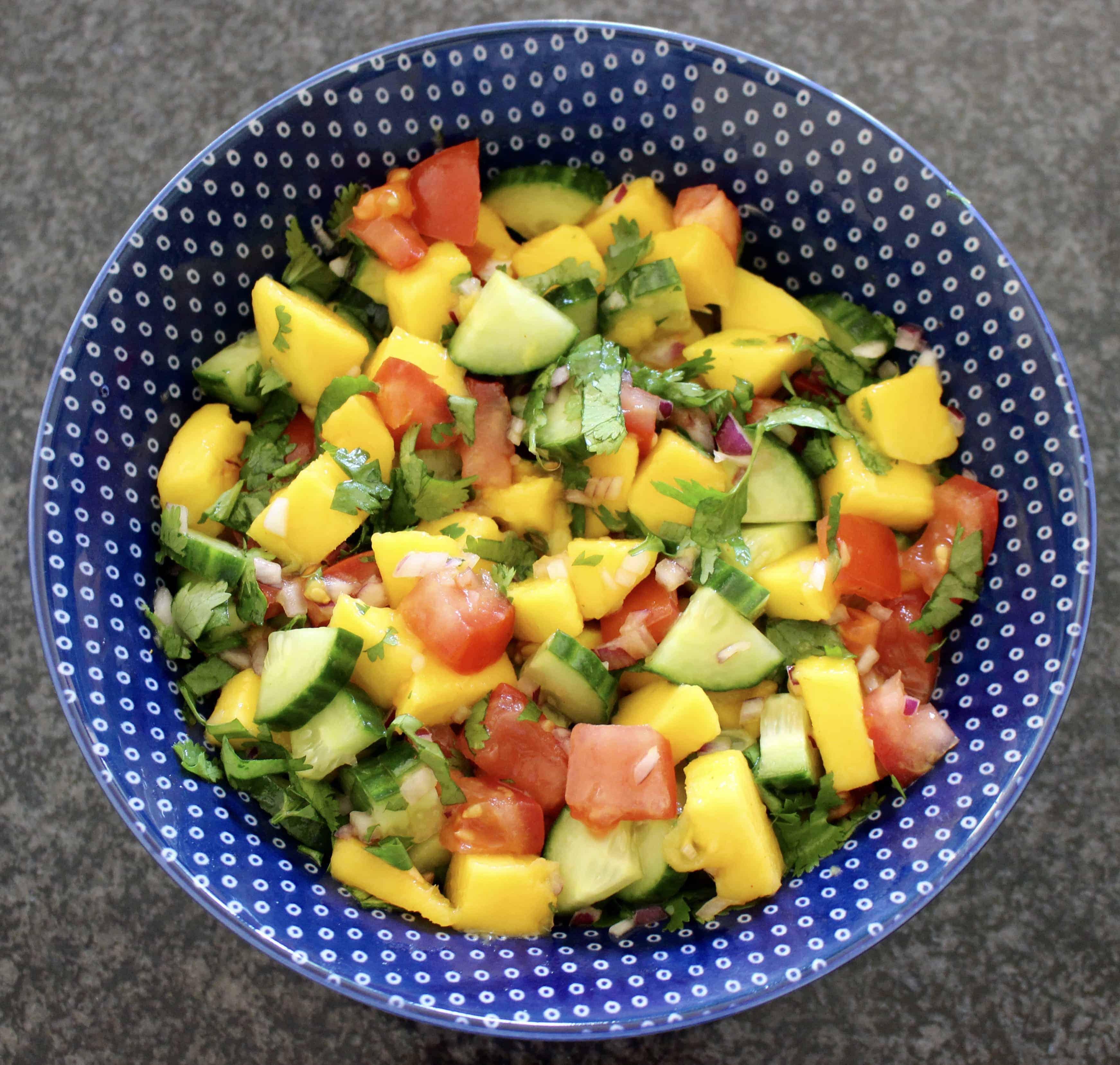 Vegan Mango Salsa (GF)