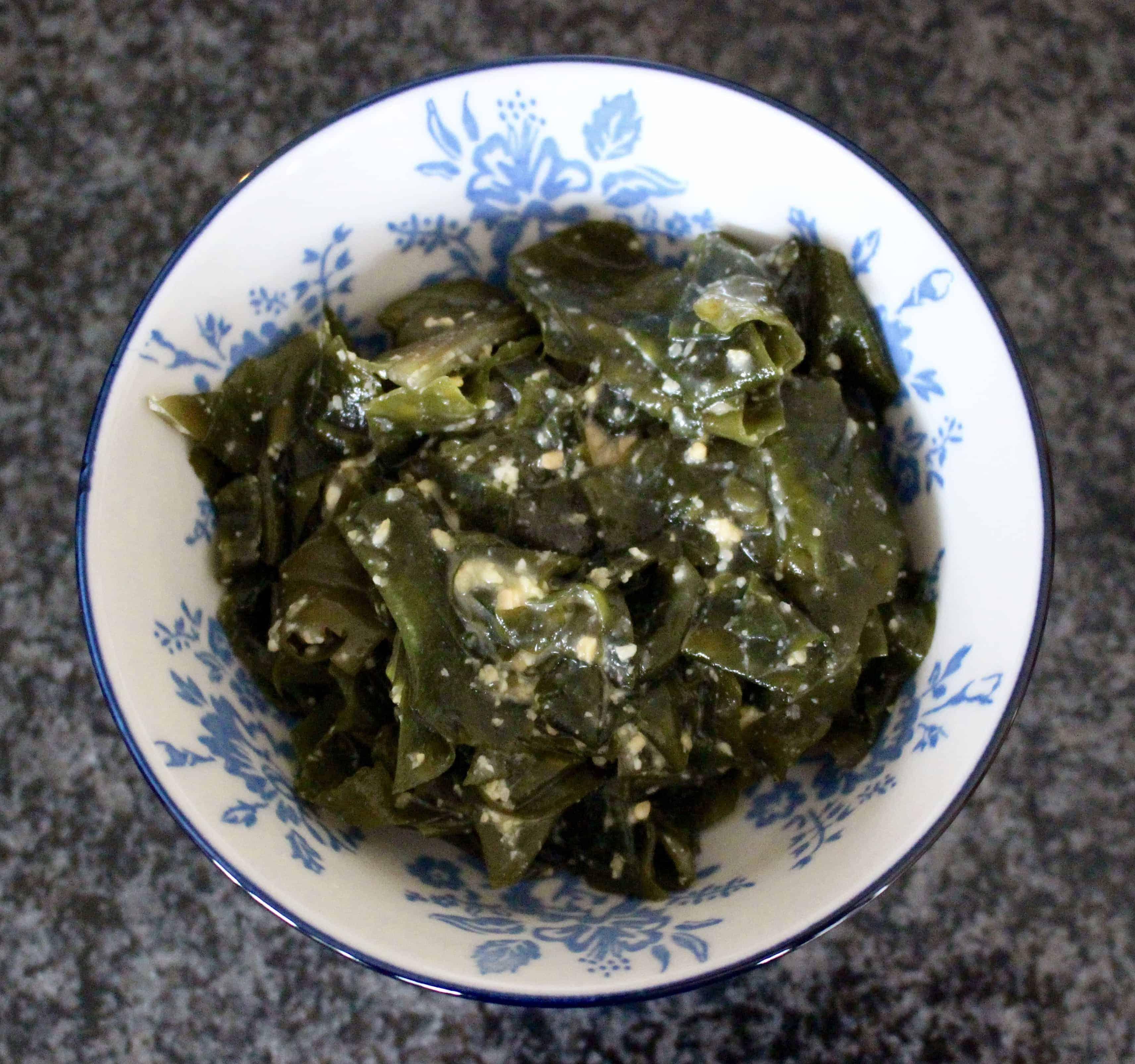 Miso Seaweed Salad (Vegan + GF)