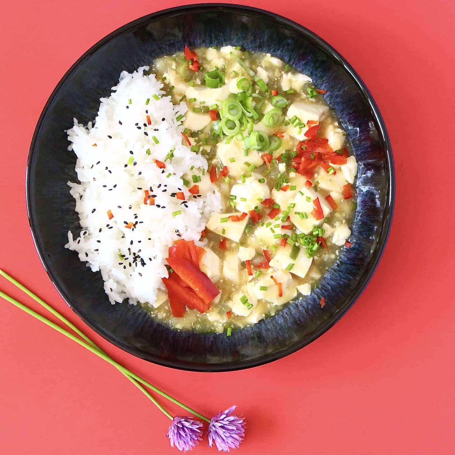 Vegan Japanese-Style Mapo Tofu (GF)