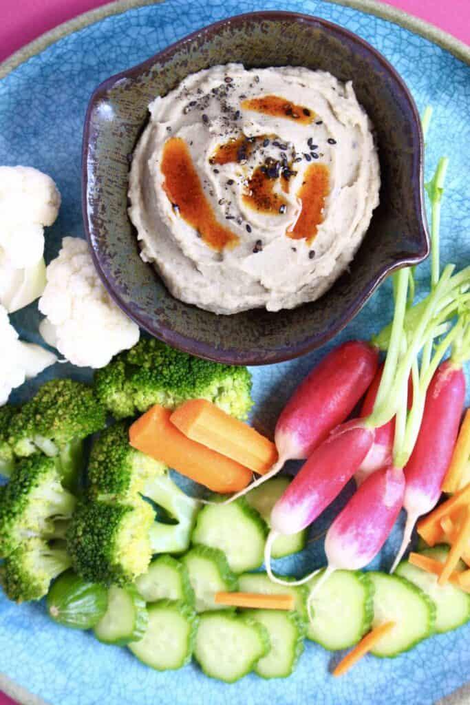Miso Aubergine Dip (Vegan + GF)