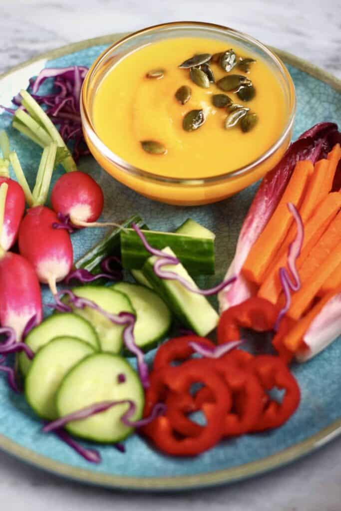 Pumpkin Sage White Bean Hummus (Vegan + GF)