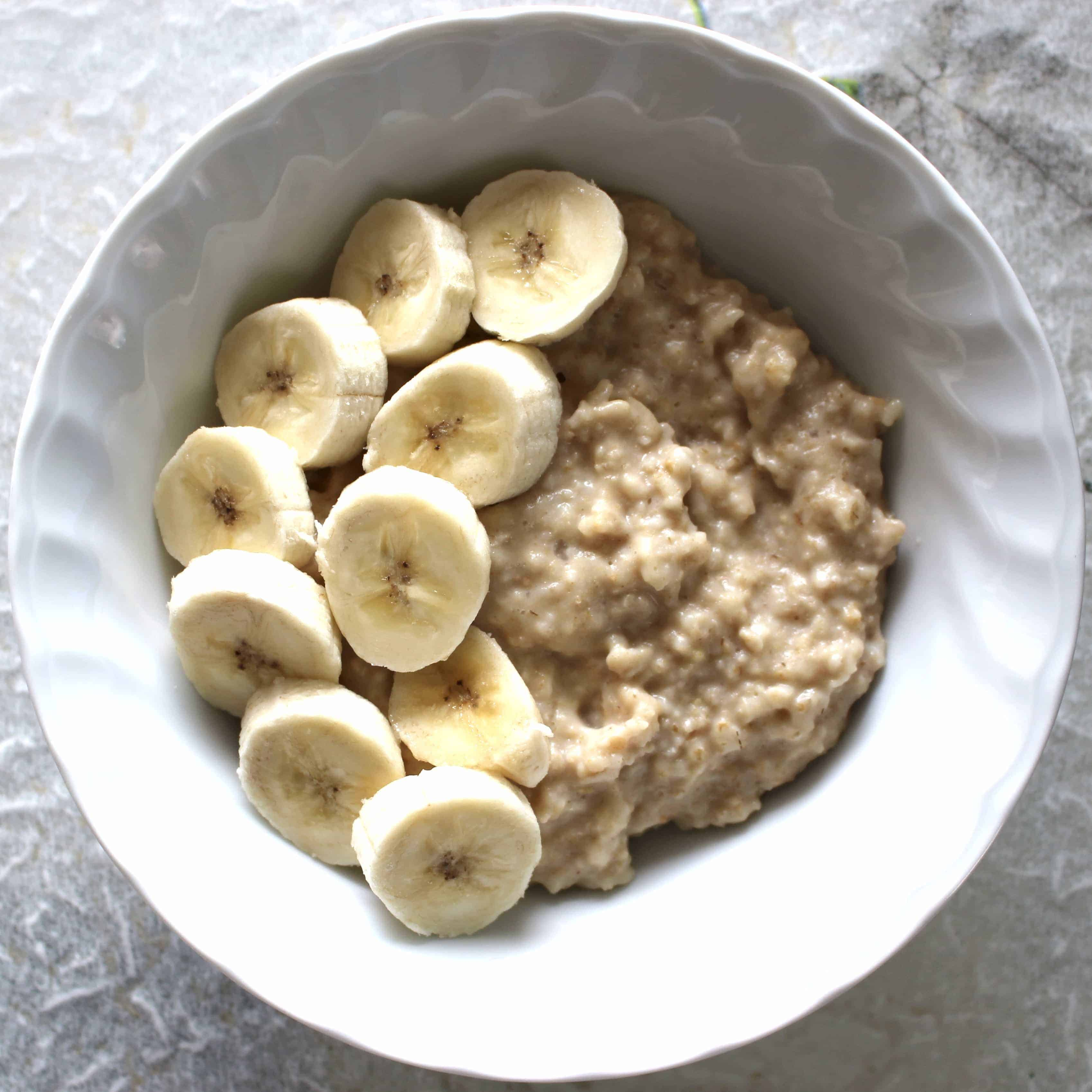 Kinako Banana Porridge (Vegan + GF)