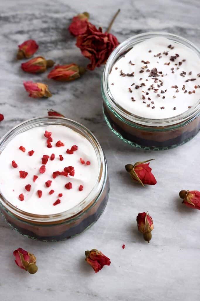 Gluten-Free Vegan Chocolate Cherry Trifle
