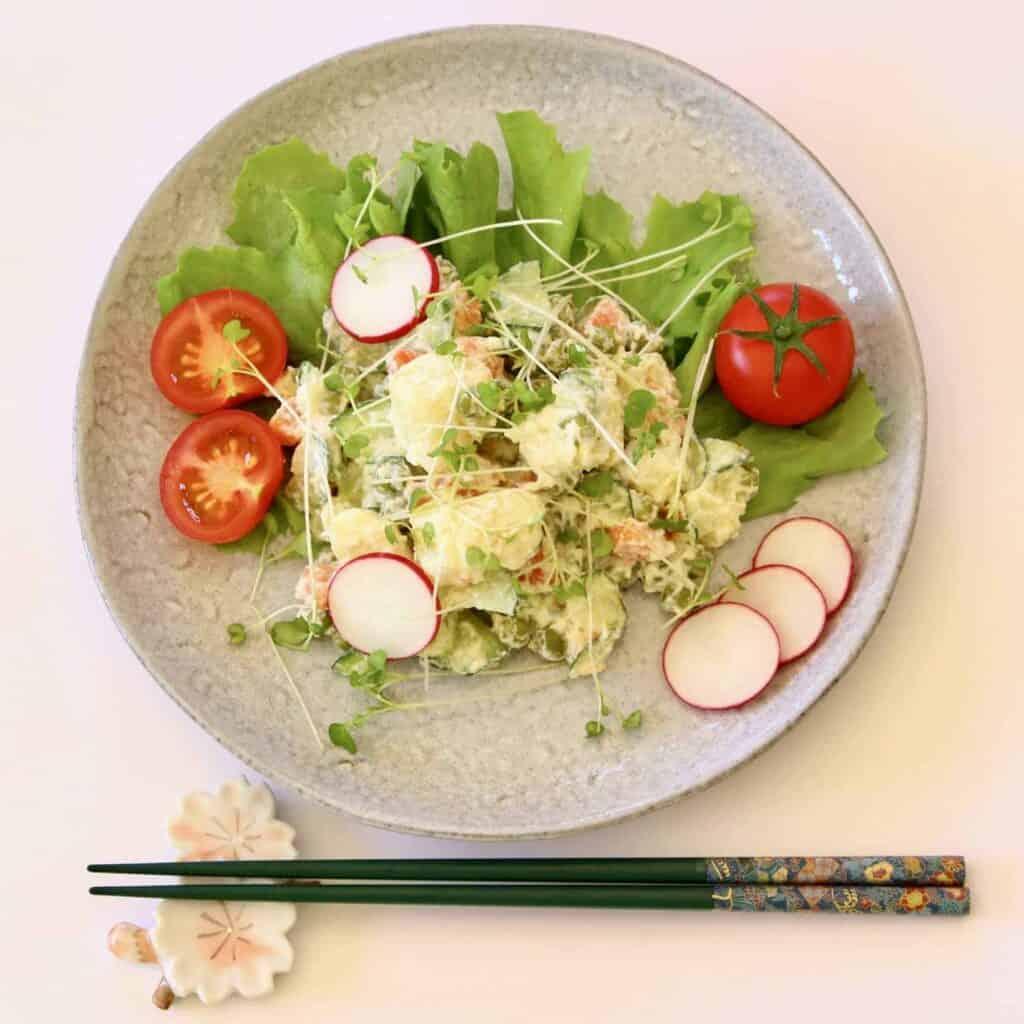 Vegan Japanese Potato Salad (GF)