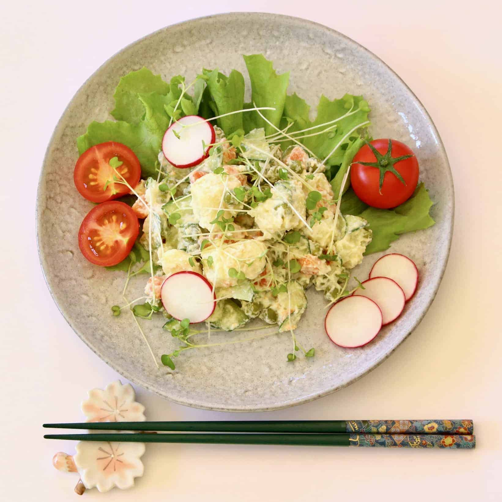 Vegan Japanese Potato Salad (GF)