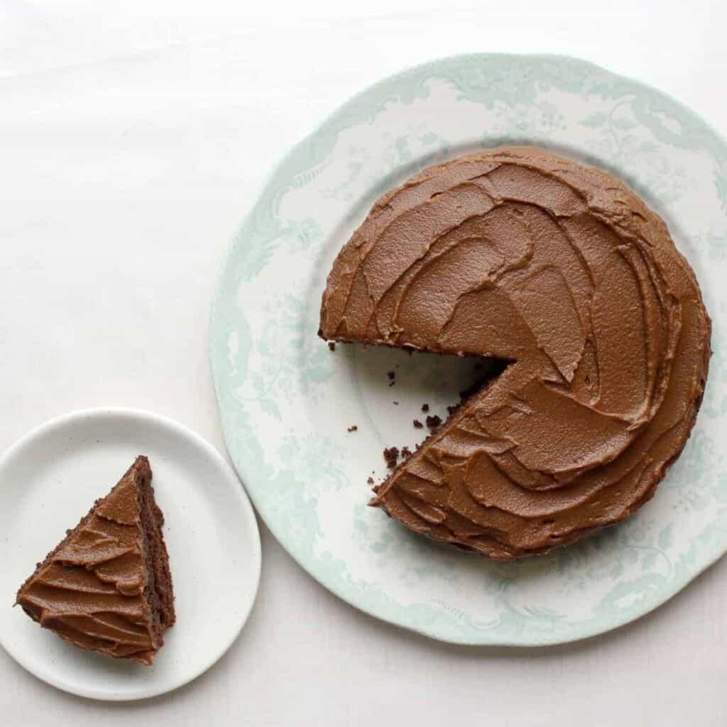 Vegan Sweet Potato Chocolate Buttercream