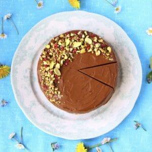 Gluten-Free Vegan Chocolate Truffle Cake