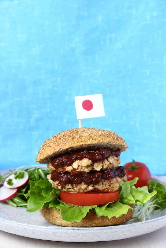 Vegan Japanese Burger (GF)