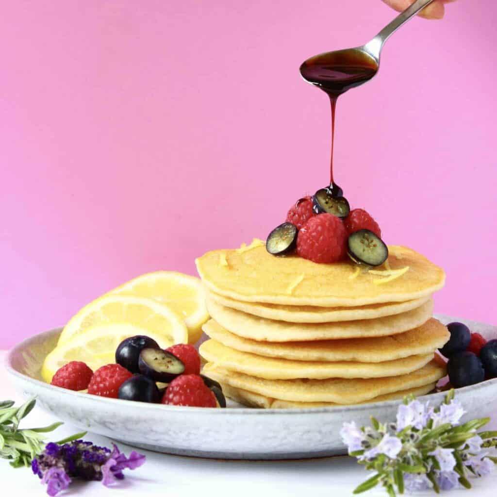Gluten-Free Vegan Fluffy Pancakes