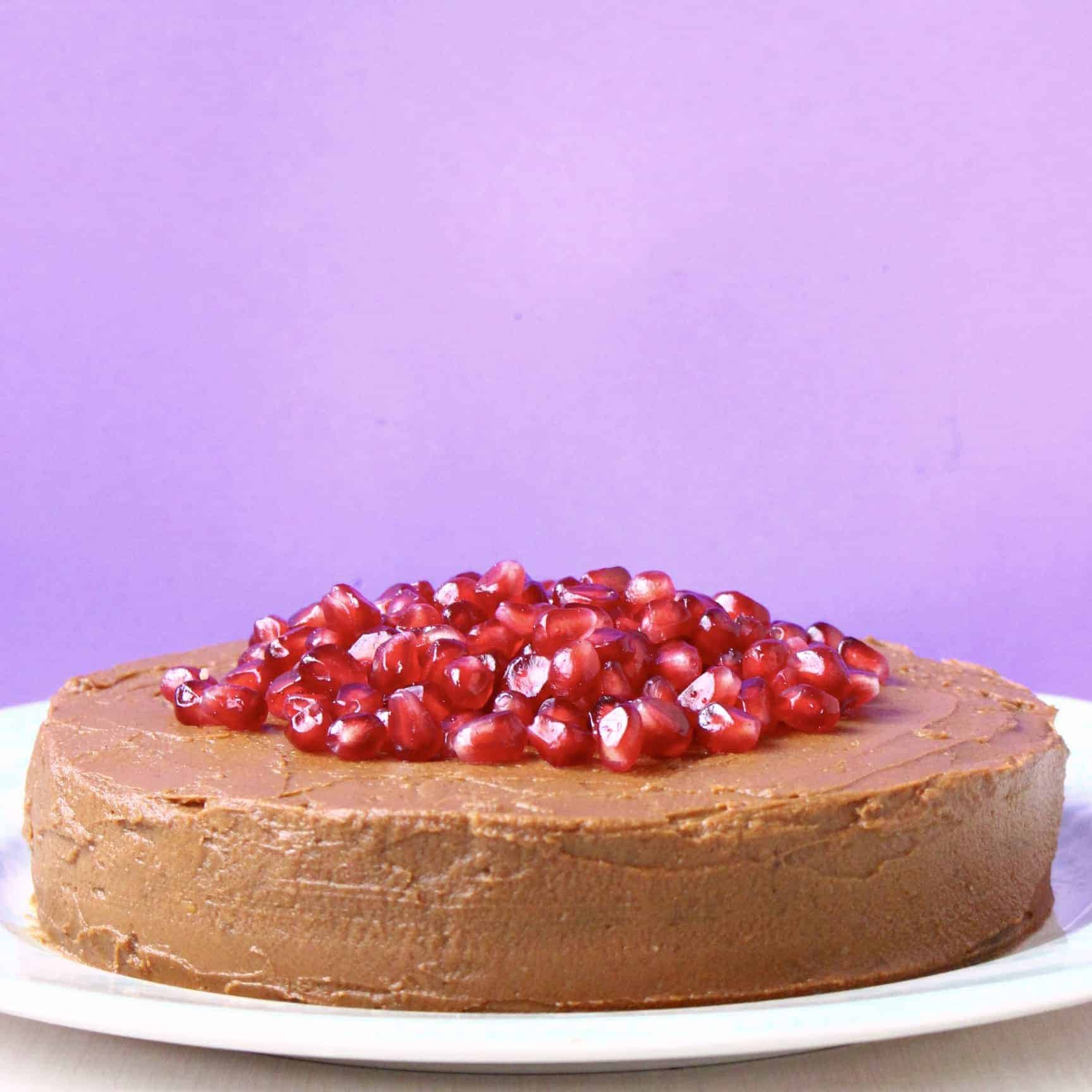 Gluten-Free Vegan Chocolate Sponge Layer Cake