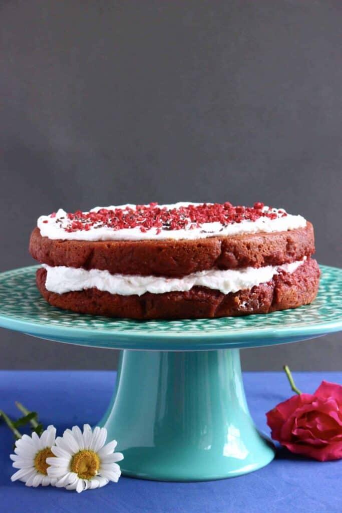 Gluten Free Vegan Red Velvet Cake Rhian S Recipes