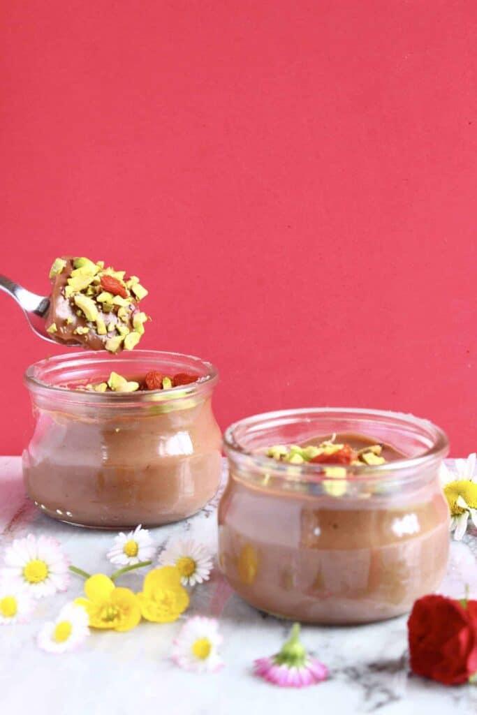 Vegan Chocolate Pudding Pots (GF)