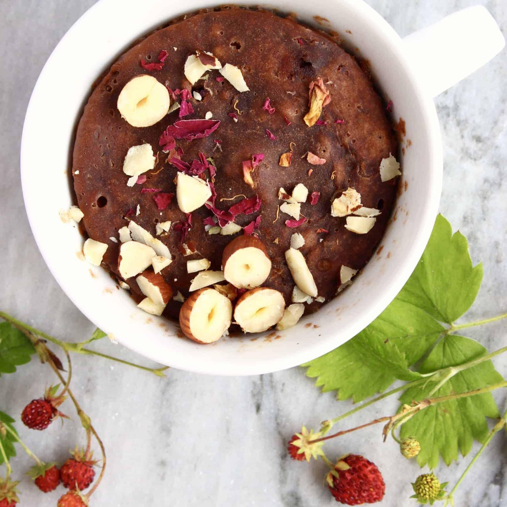 Vegan Chocolate Microwave Mug Cake
