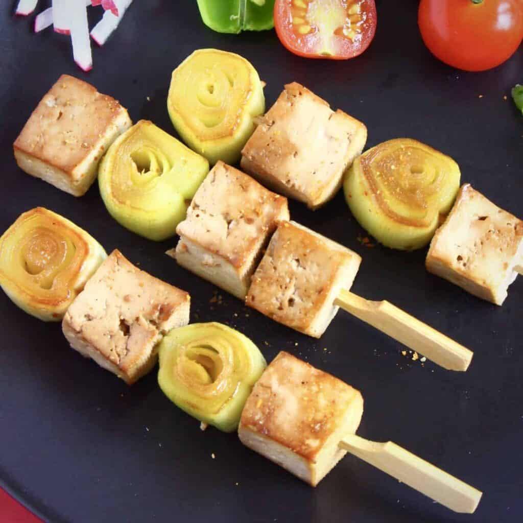 Vegan Tofu Yakitori Skewers (GF)