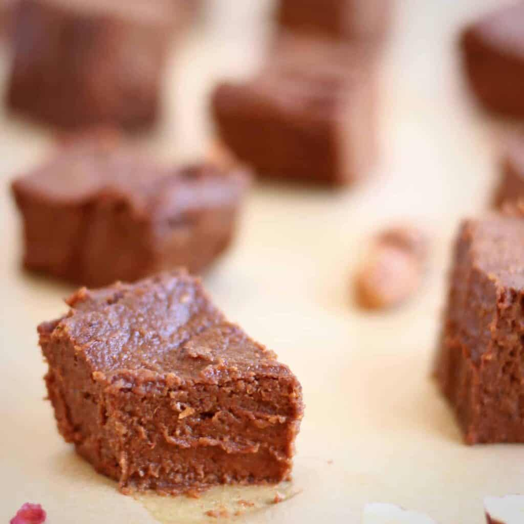 Vegan Chocolate Sweet Potato Fudge (GF)
