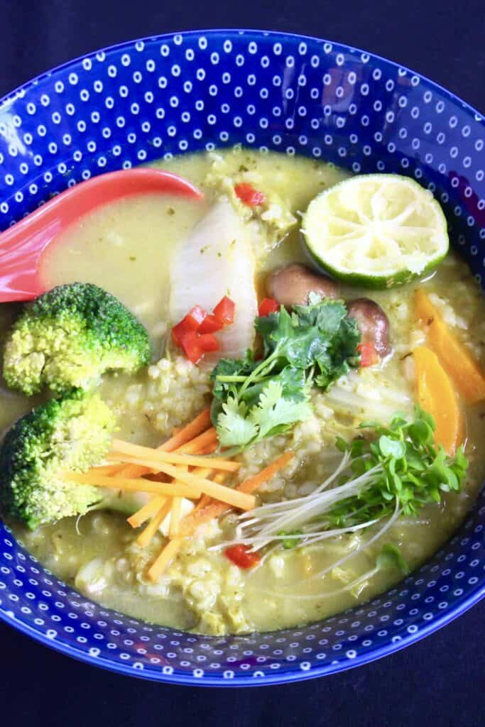 how to cook thai green curry