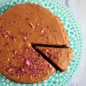 Gluten-Free Vegan Chocolate Hazelnut Truffle Cake