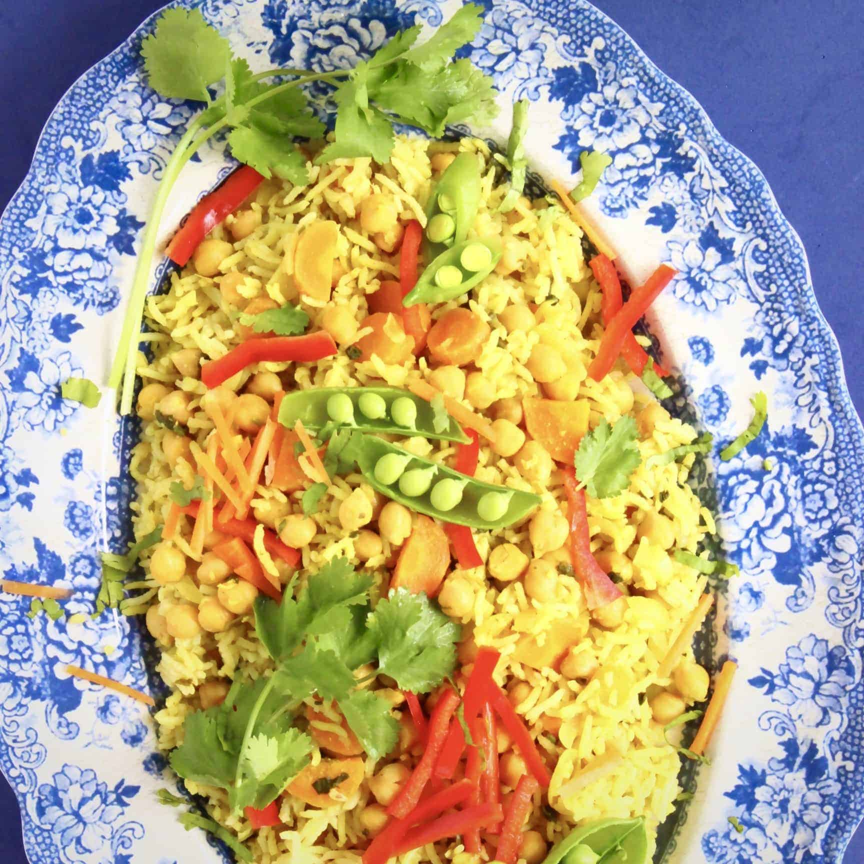 Vegan Chickpea Kedgeree (GF)