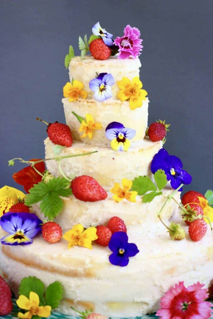 Gluten-Free Vegan Wedding Cake