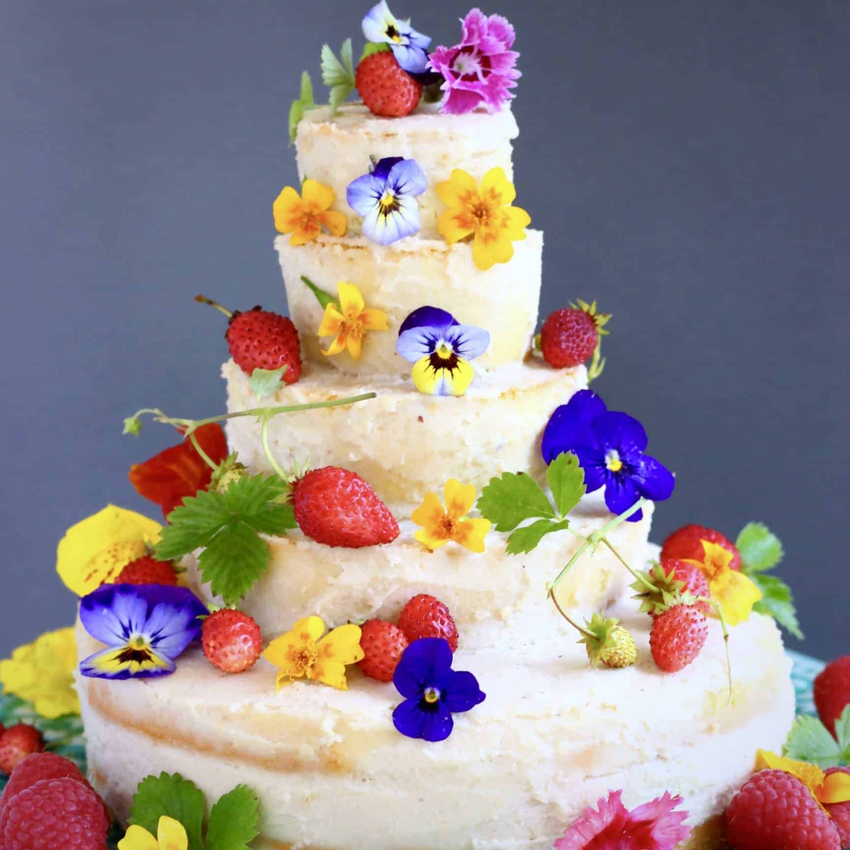 Gluten Free Vegan Wedding Cake Rhian S Recipes