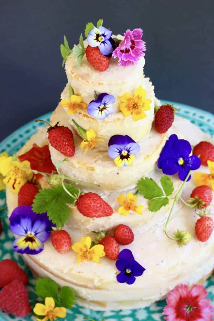 Gluten-Free Vegan Wedding Cake | Rhian\'s Recipes