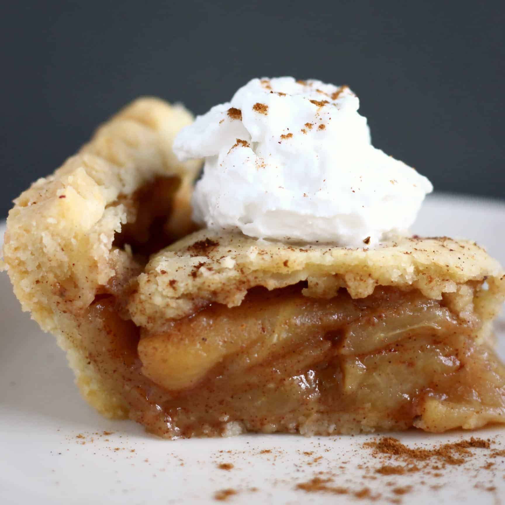 Gluten-Free Vegan Apple Pie
