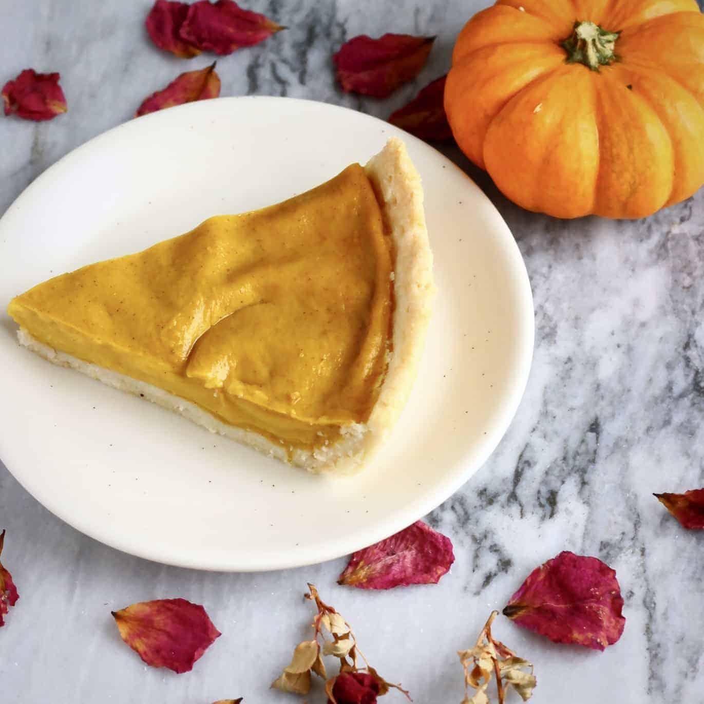 Gluten-Free Vegan Pumpkin Pie