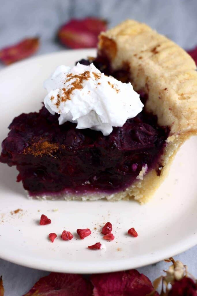 Gluten-Free Vegan Blueberry Pie