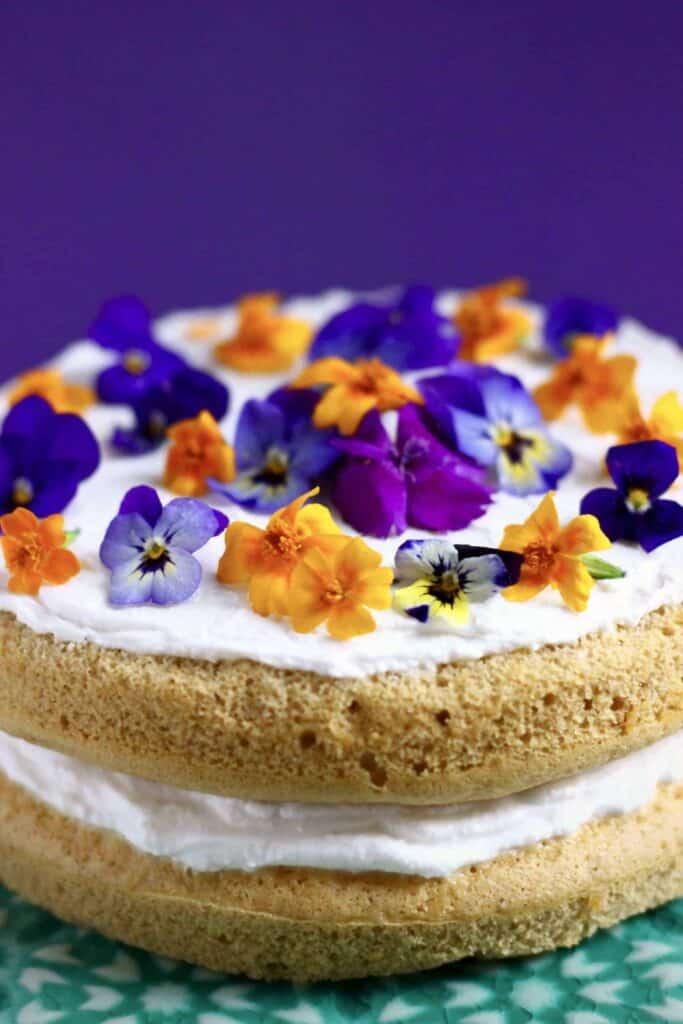 Gluten-Free Vegan Pumpkin Cake