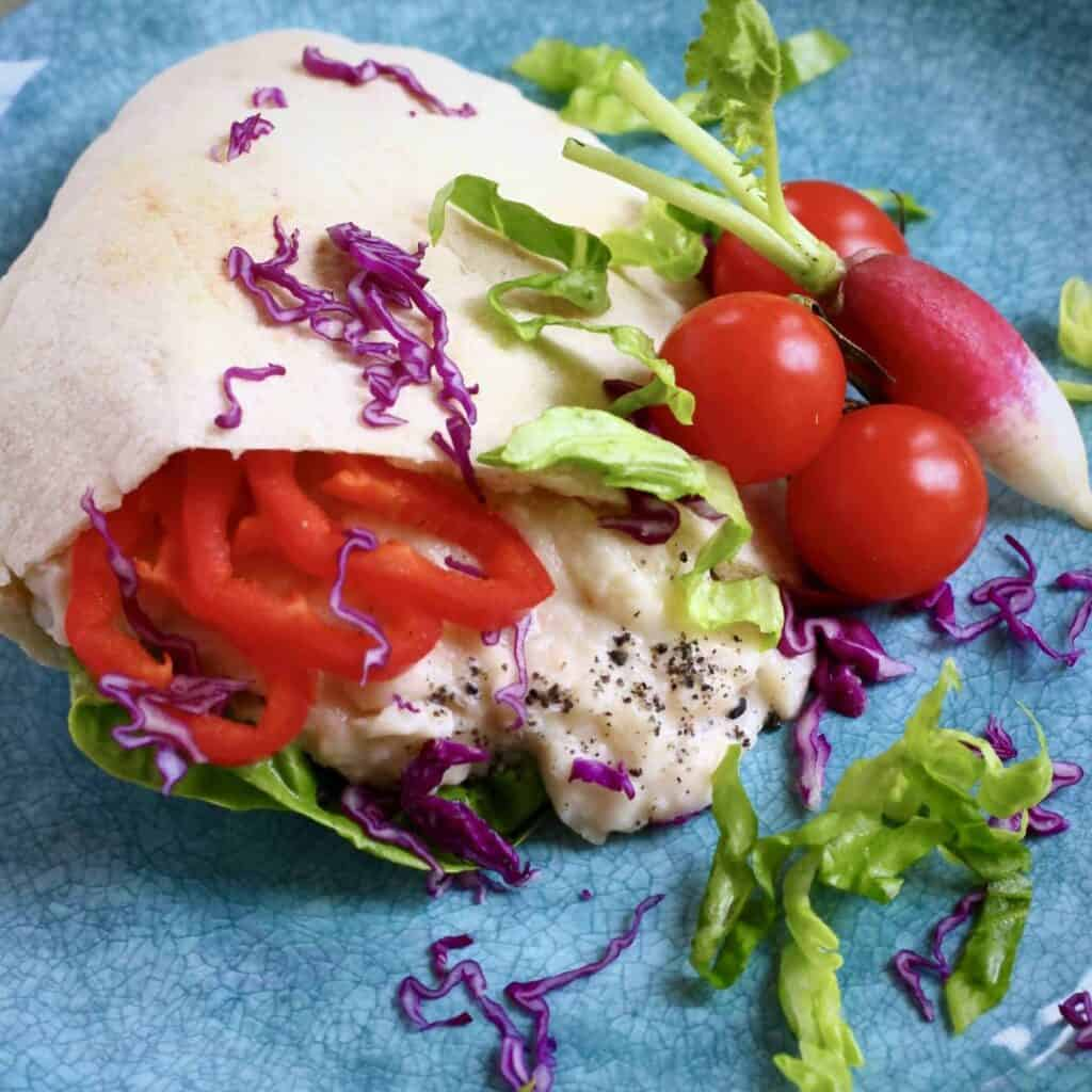 Vegan White Bean Tuna Salad Sandwich
