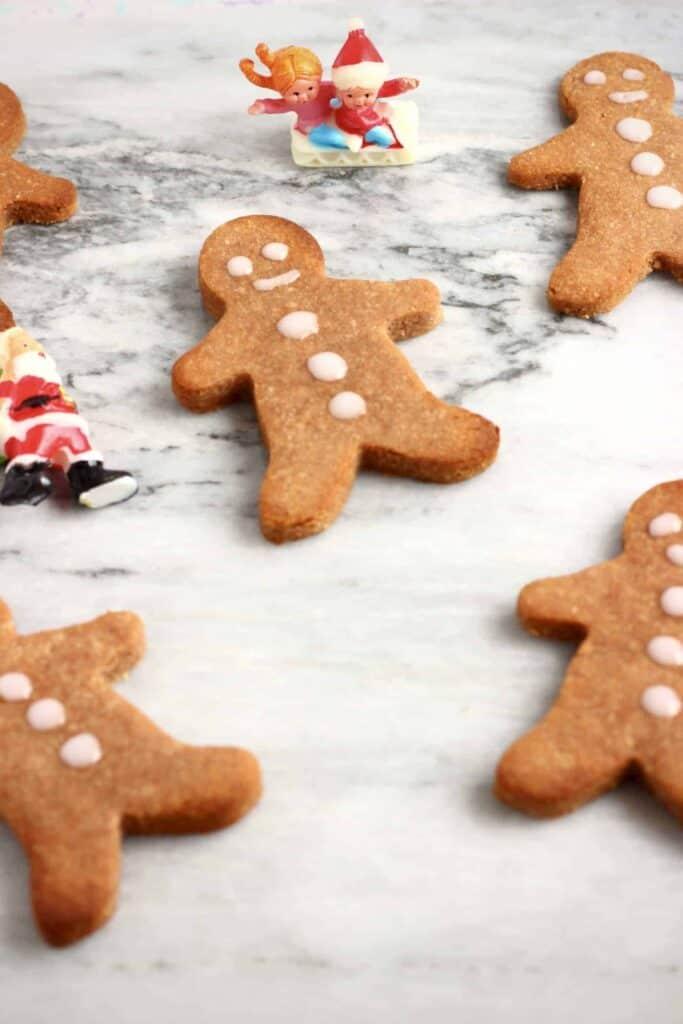 Gluten-Free Vegan Gingerbread Cookies