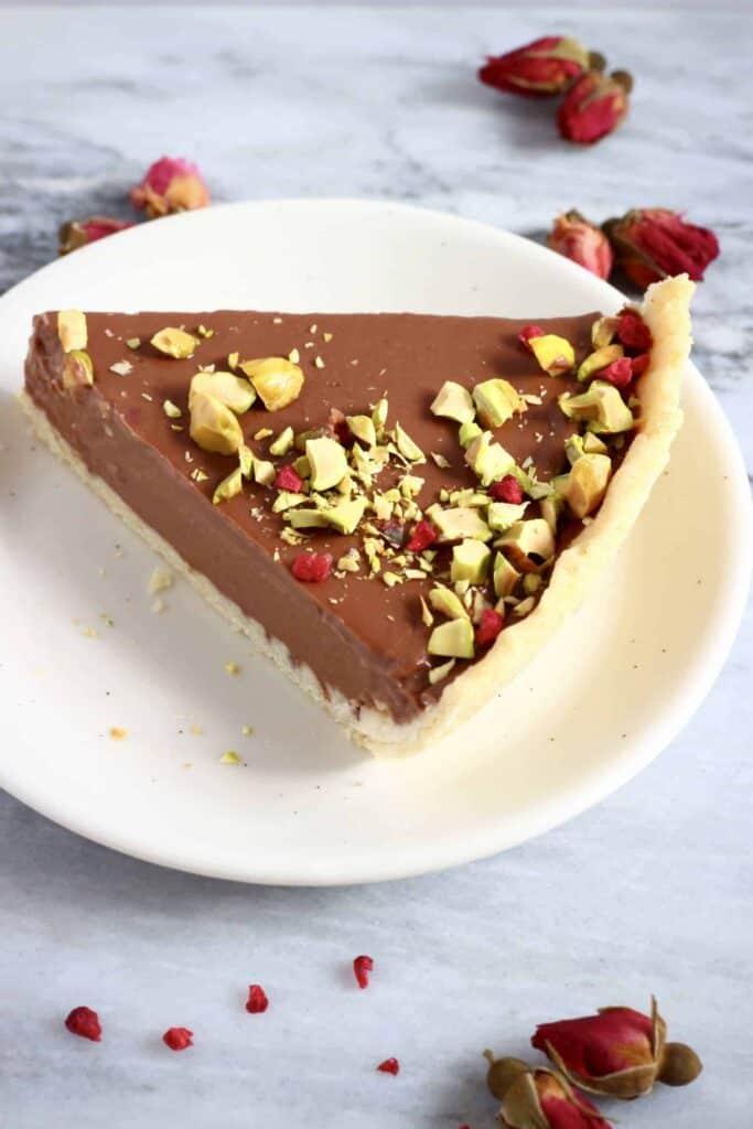 Gluten-Free Vegan Chocolate Tart