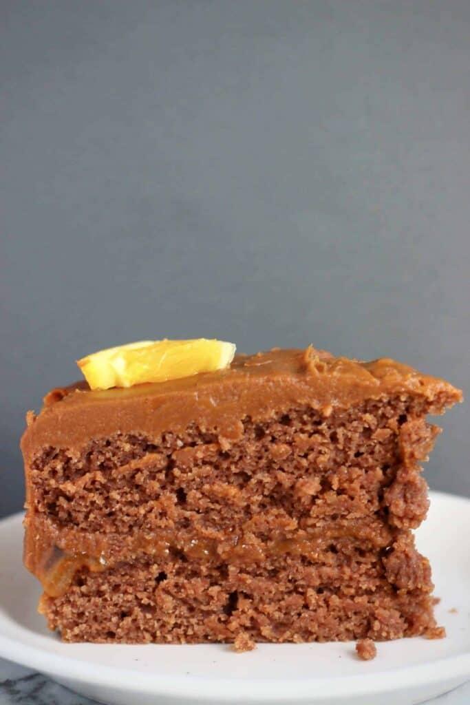 Gluten-Free Vegan Chocolate Orange Cake
