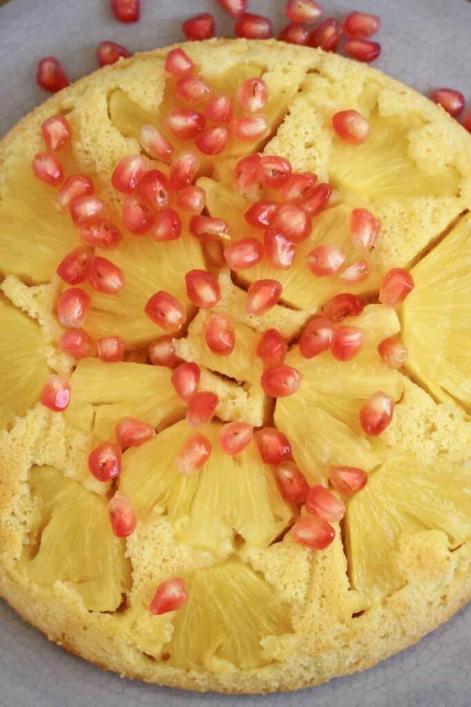 Gluten-Free Vegan Pineapple Upside Down Cake