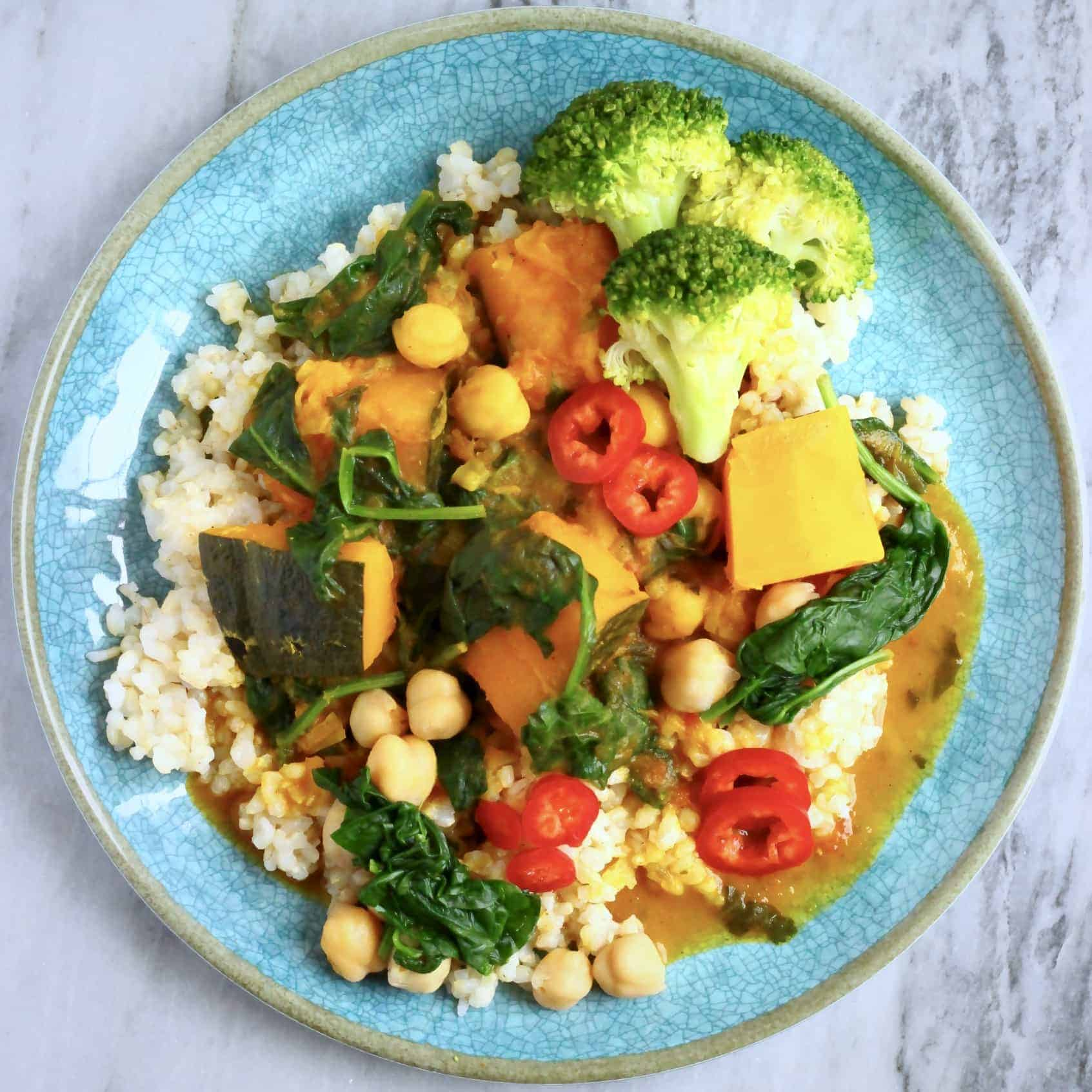 Vegan Chickpea Pumpkin Curry (GF)