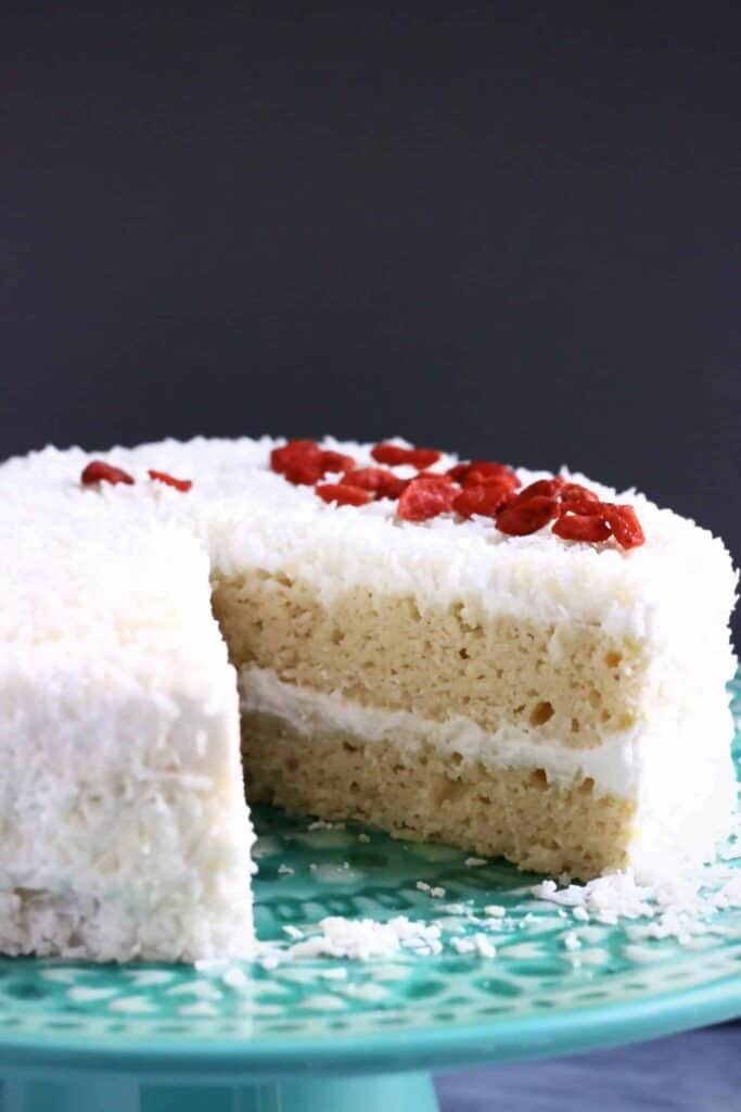 Gluten Free Vegan Coconut Cake Rhian S Recipes